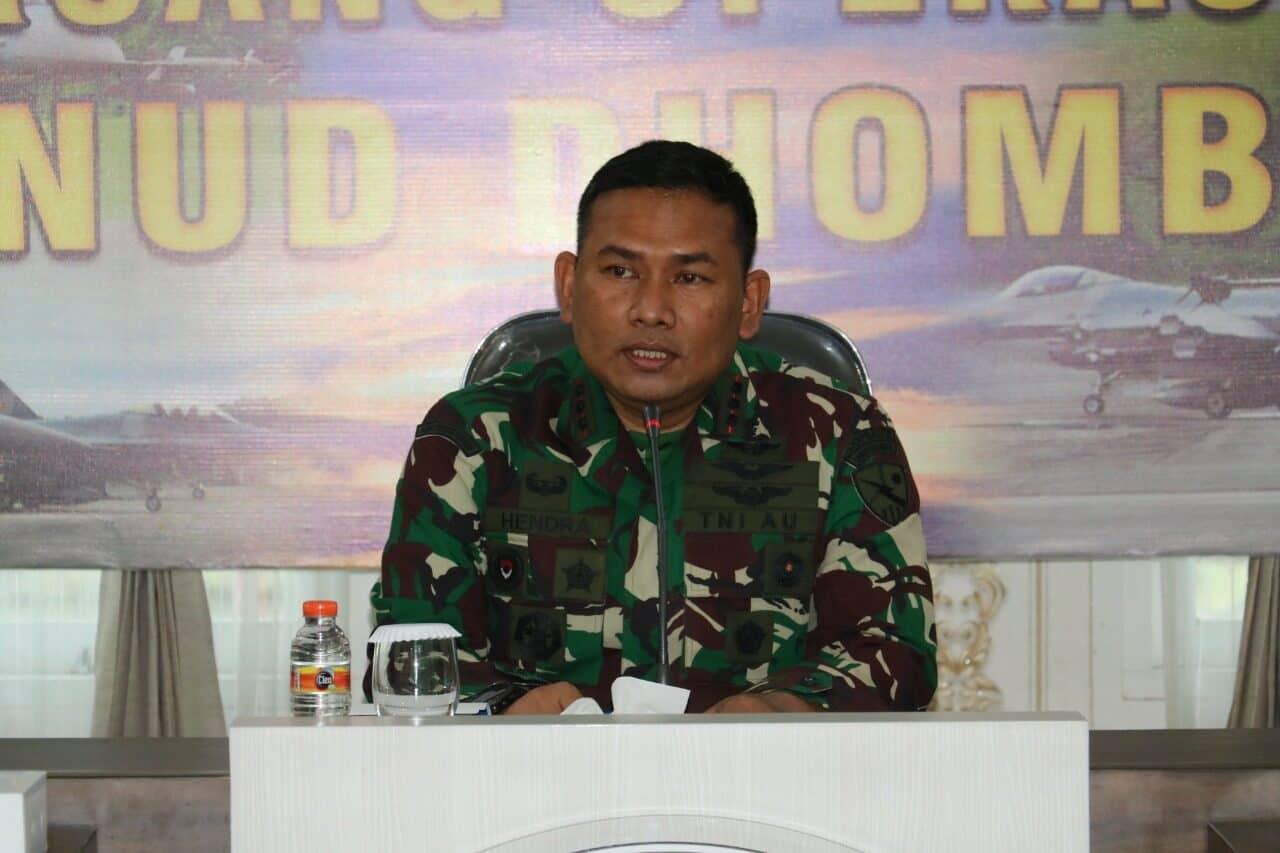 Komandan Lanud Dhomber Laksanakan Exit Briefing