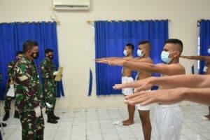 Danlanud RHF Pimpin Sidang Pantukhir Calon Tamtama Khusus Paskhas 2021