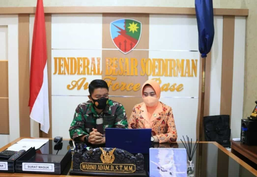 Sosialisasi PPDB SMA Pradita Dirgantara di Lanud J.B. Soedirman