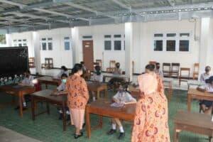 Sosialisasi SMA Pradita Dirgantara di SMP Angkasa Lanud El Tari