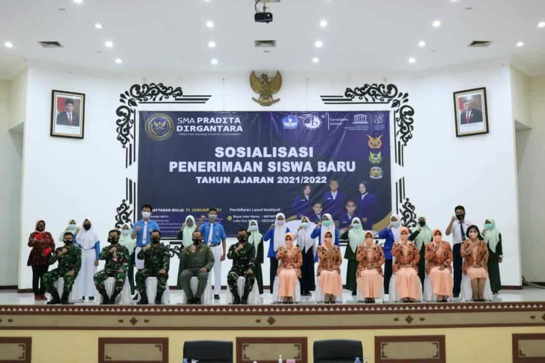 Lanud Iswahjudi Gaet Siswa Se-Karesidenan Madiun Bergabung SMA Pradita Dirgantara