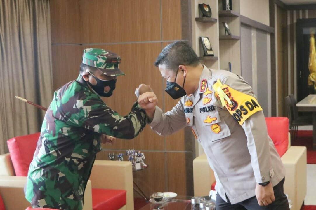 Awali Masa Tugas, Danlanud Rsn Sambangi Forkopimda Riau