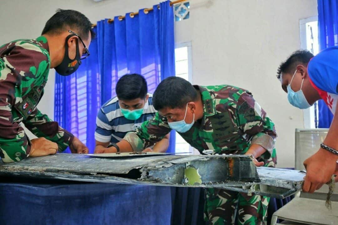 Penemuan Benda Mirip Serpihan Pesawat, Danlanud RHF : Kita Kirim ke Jakarta untuk Didalami Lebih Lanjut