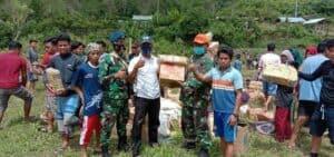 Kemanunggalan Paskhas Bersama Korban Bencana Gempa Di Mamuju