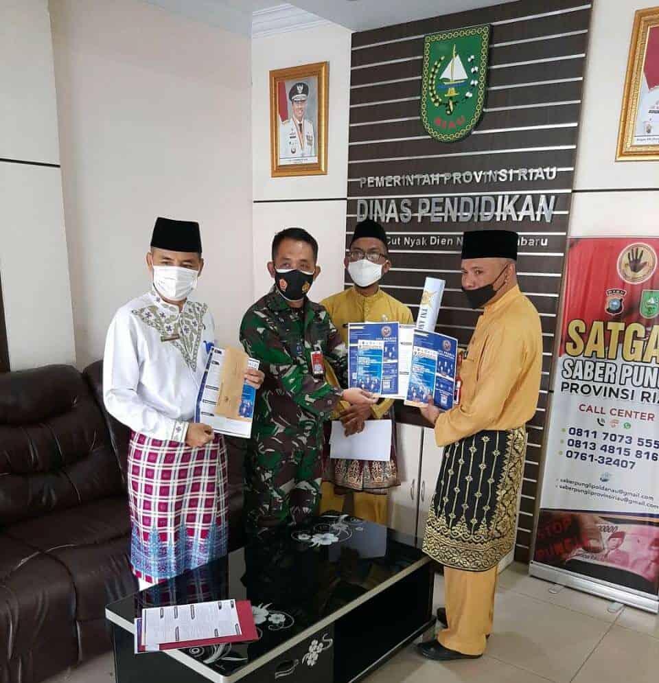 Kadispers Lanud Rsn Kunjungi Disdik Provinsi Riau, Sosialisasikan PPDB SMA Pradita
