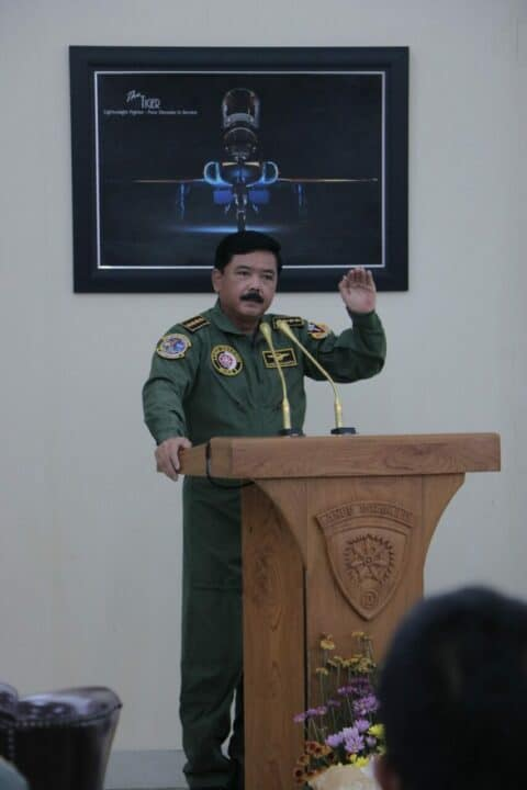 Apresiasi dan Rasa Bangga Panglima TNI Kepada Penerbang Lanud Iswahjudi