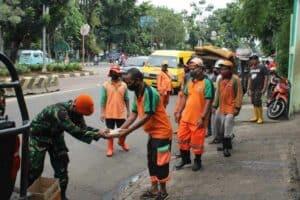 Acara Tradisi Purna Dinas Serma Purnawirawan Budiyatman