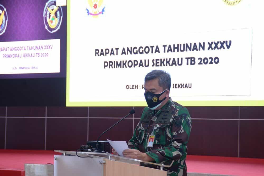 Primkopau Sekkau Adakan RAT Tahun Buku 2020