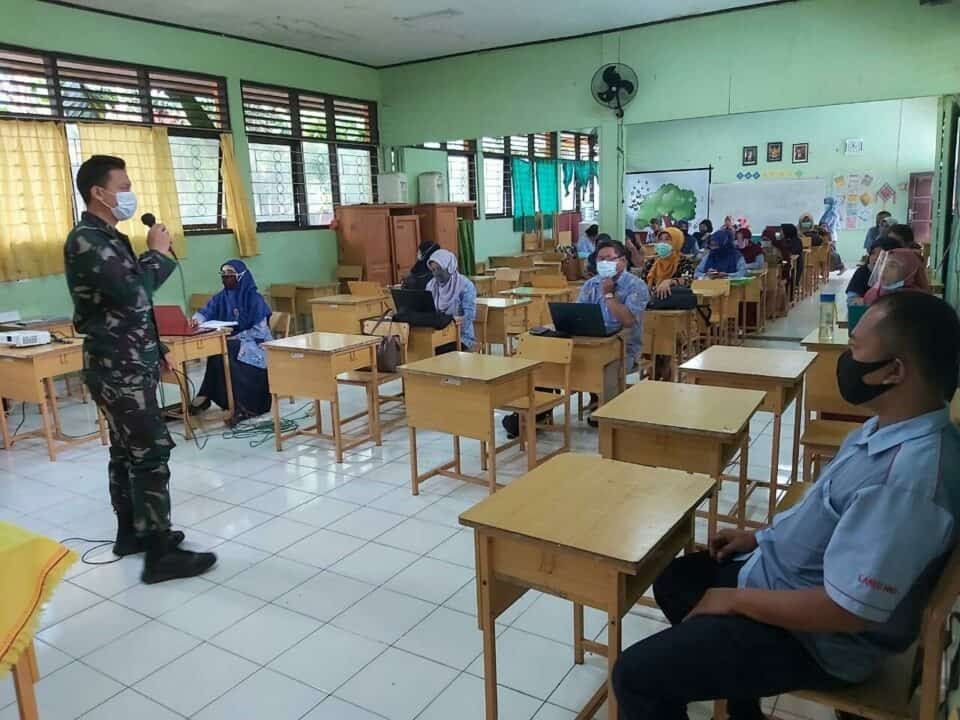 Jaring Siswa Baru, Tim PPDB SMA Pradita Dirgantara Lanud Sultan Hasanuddin Gencar Sosialisasi