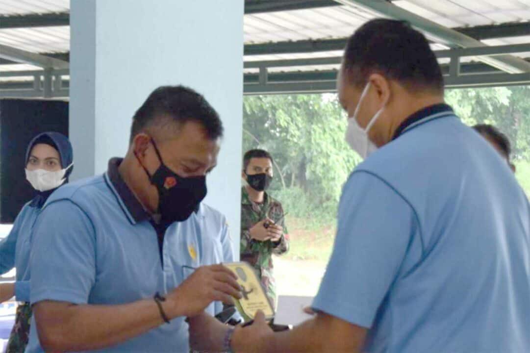 Dankorpaskhas Juara Lomba Tembak Monthly Game di Lapangan Tembak Wing I Paskhas Halim