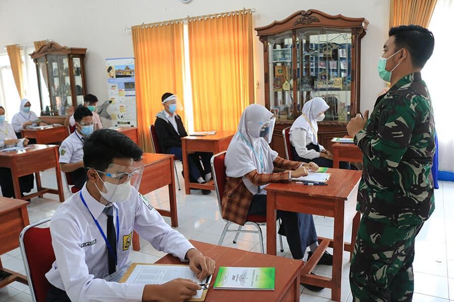 Tes Psikologi PPDB SMA Pradita Dirgantara di Lanud J.B. Soedirman