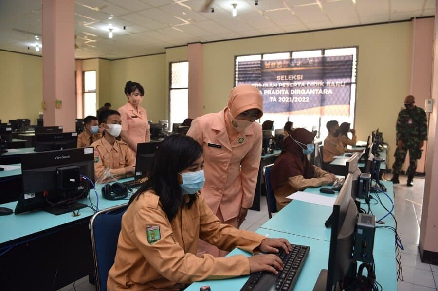 Pangkalan TNI AU Supadio Fasilitasi Seleksi PPDB SMA Pradita Dirgantara Tingkat Daerah