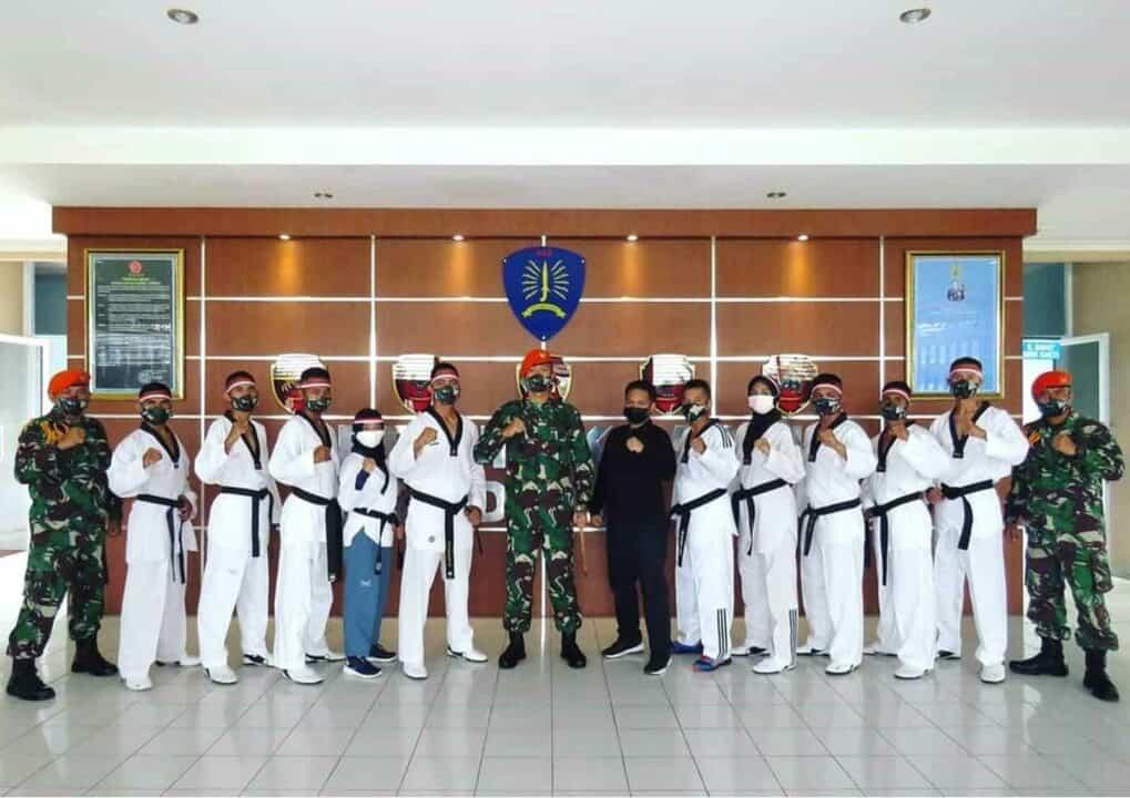 Sukses Dan Bangga Berhasil Jadi Wasit Taekwondo Tingkat Nasional Oleh Para Prajurit Yonko 462