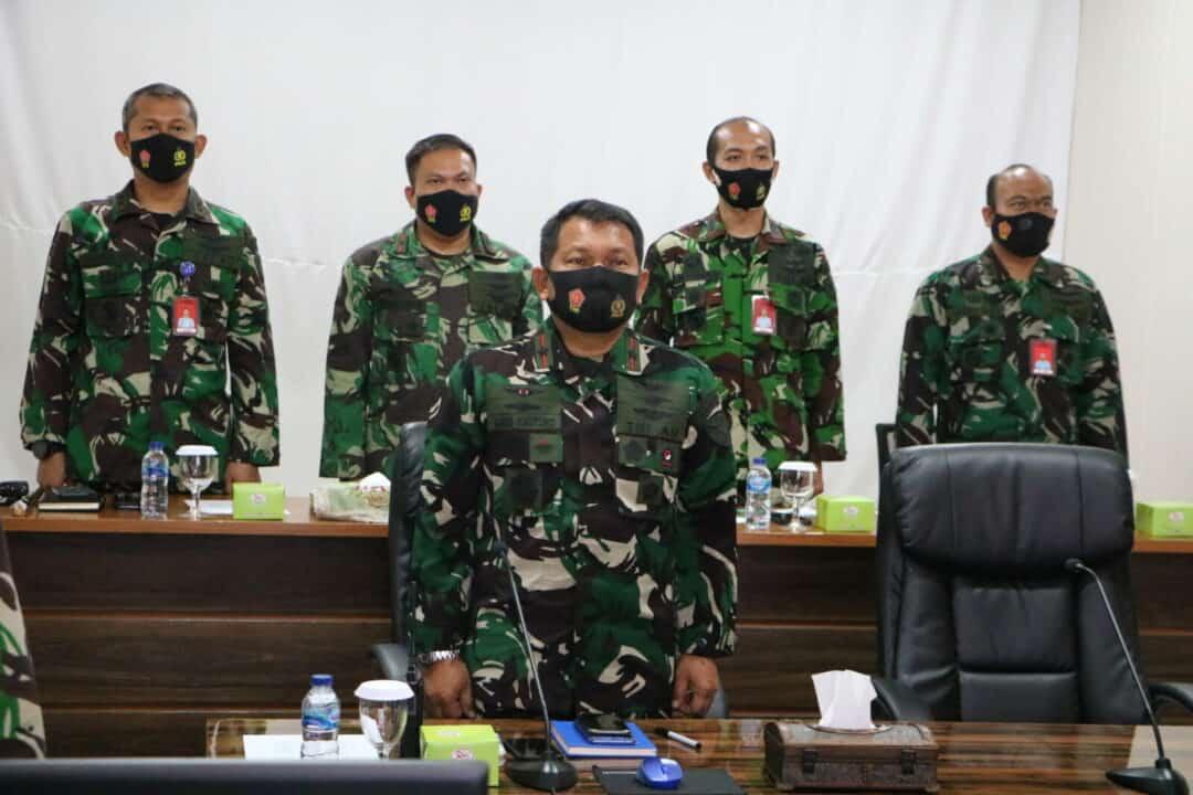 Danlanud Rsn Ikuti Rapim TNI AU TA. 2021