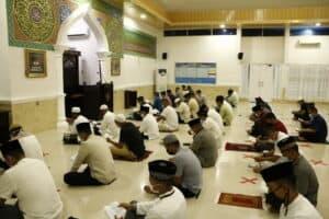 Lanud Rsn Gelar Doa Bersama Sebelum Latihan Survival Dasar