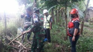 Lanud J.B. Soedirman Laksanakan Operasi Patok