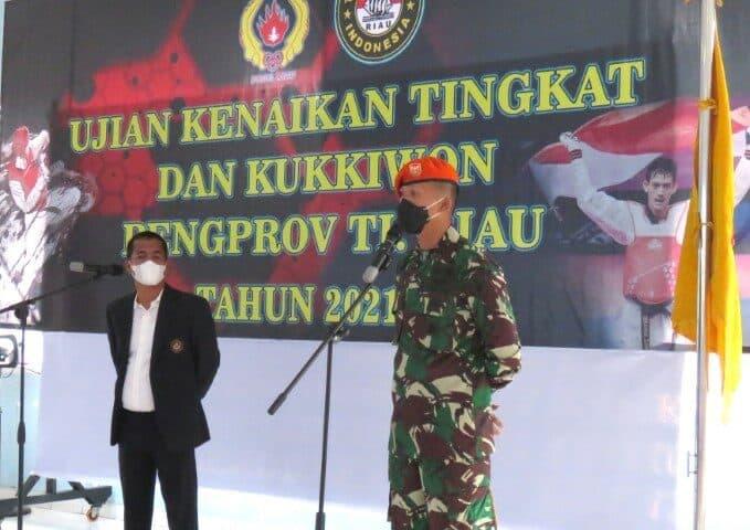 Uji Kenaikan Tingkat (UKT) Diklat Wasit Dan Diklat Pelatih Daerah Di Yonko 462 Paskhas