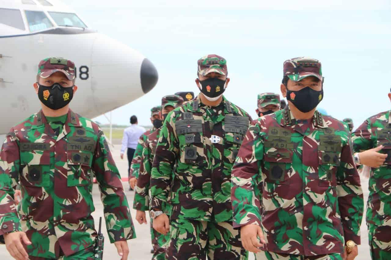 Kunjungan Kerja Panglima TNI dan Kapolri di Wilayah Bali