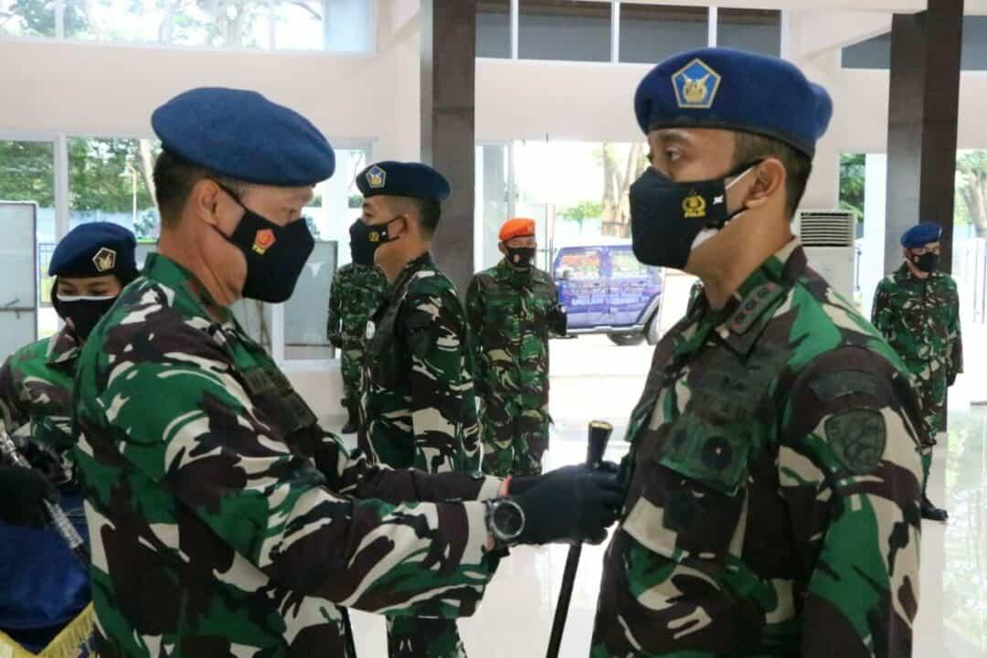Jabatan Komandan Wing Udara 5 Lanud Sultan Hasanuddin Diserah Terimakan