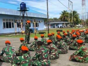 Batalyon Komando 468 Paskhas tingkatkan kemampuan tempur melalui Jungar