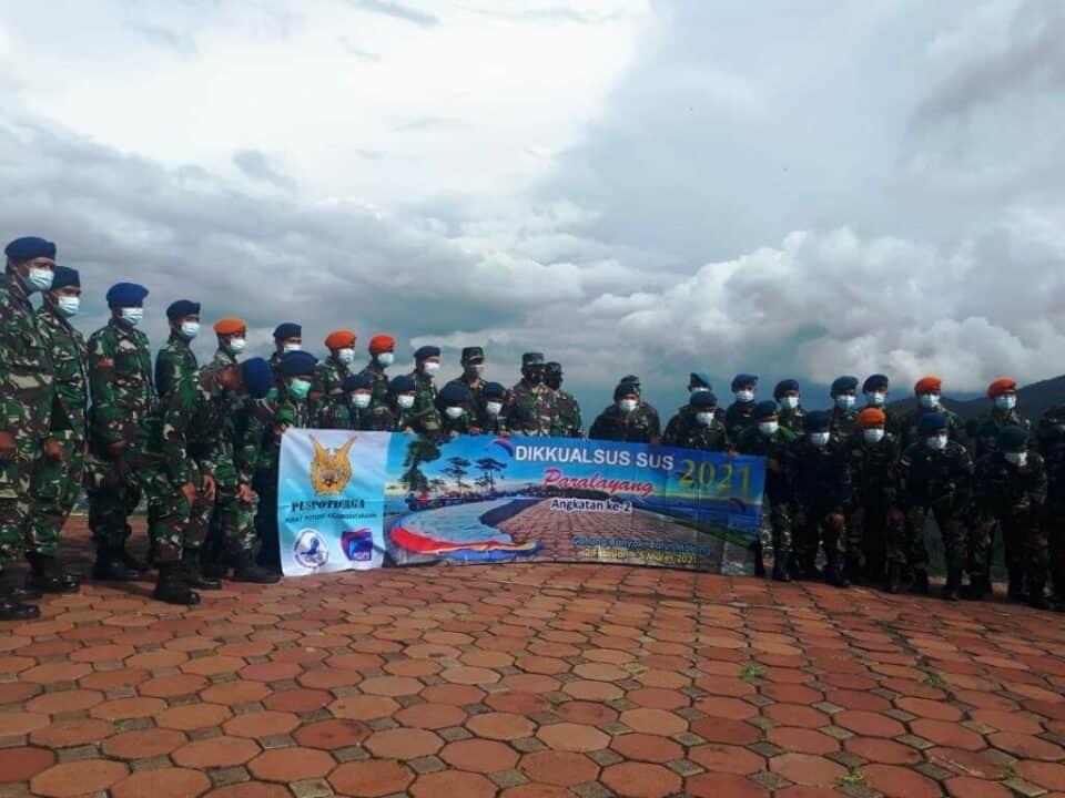 Kursus Paralayang TNI AU Angkatan ke-2 di Wilayah Lanud Abd Saleh Berakhir