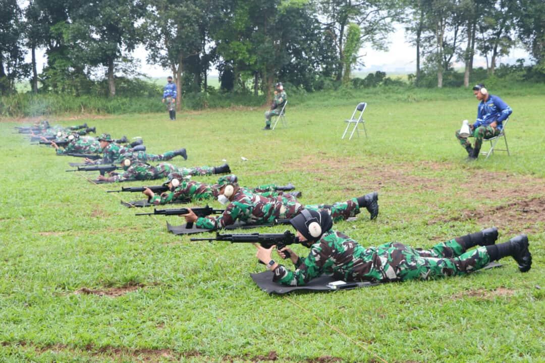 Latihan Menembak, Tingkatkan Kemampuan Dan Profesionalitas Personel Wingdiktek