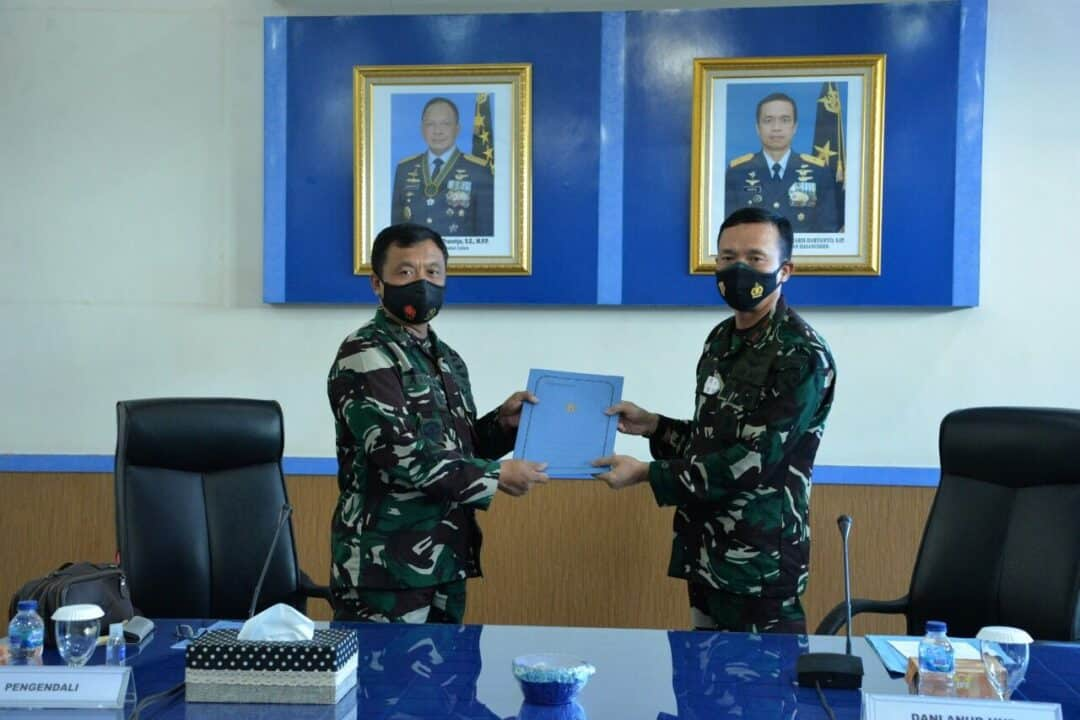 Exit Briefing Akhiri Wasrik Itjenau di Lanud Sultan Hasanuddin