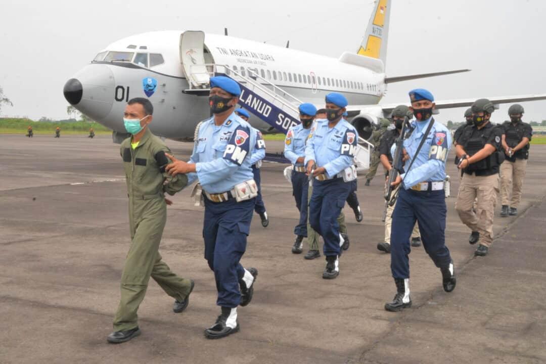 Kosekhanudnas III Medan Melakukan Pendaratan Paksa Pesawat Asing Tak Dikenal