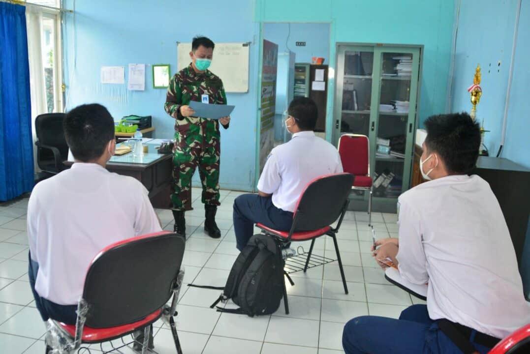 Jaga Kualitas Calon Anak Didik Lanud Sjamsudin Noor Laksanakan Tes Psikologi PPDB SMA Pradita Dirgantara TA. 2021/2022