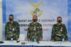 Primkopau Lanud Husein Sastranegara Gelar RAT Secara Virtual