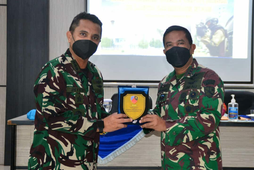 Tingkatkan Pembinaan Potensi Dirgantara Puspotdirga TNI AU Gelar Pengawasan dan Sosialisasi di Lanud Sjamsudin Noor Sekaligus Meninjau Aset TNI AU AWR Maluka Baulin