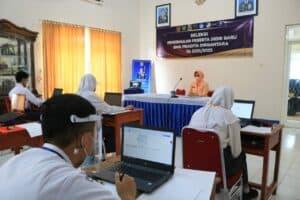 Tes Akademik Casis SMA Pradita Dirgantara di Lanud J.B. Soedirman