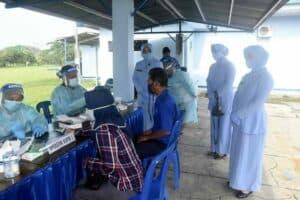 Rapid Test Massal Dan Operasi Gaktib Di Lanud Wiriadinata