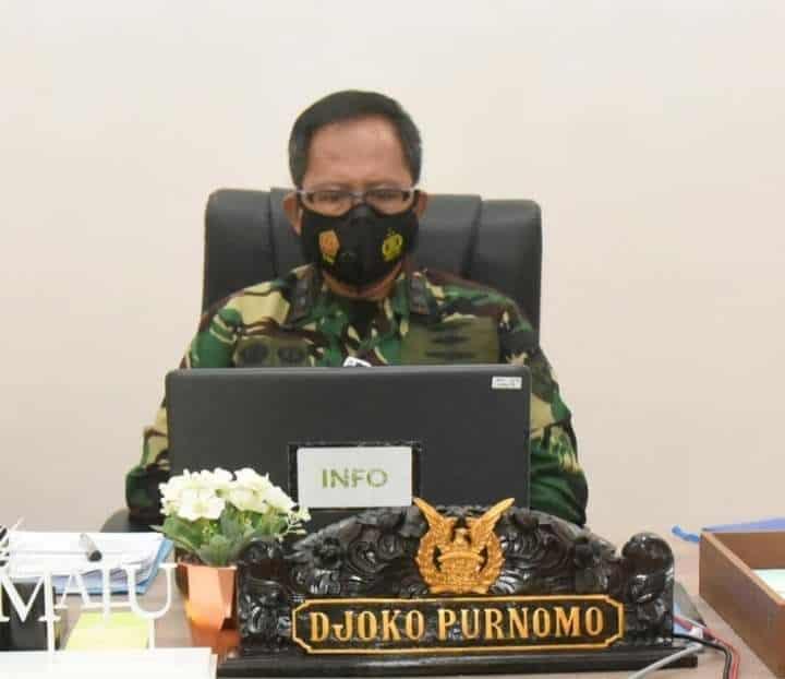 Danlanud Wiriadinata Ikuti Rapat Pimpinan TNI AU Tahun 2021
