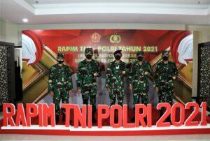 Rapim TNI-Polri Tahun 2021 Dukung Program Pemerintah