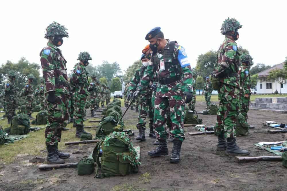 Prajurit Siswa Semaba PK TNI AU Angkatan Ke-46 Laksanakan Latganda