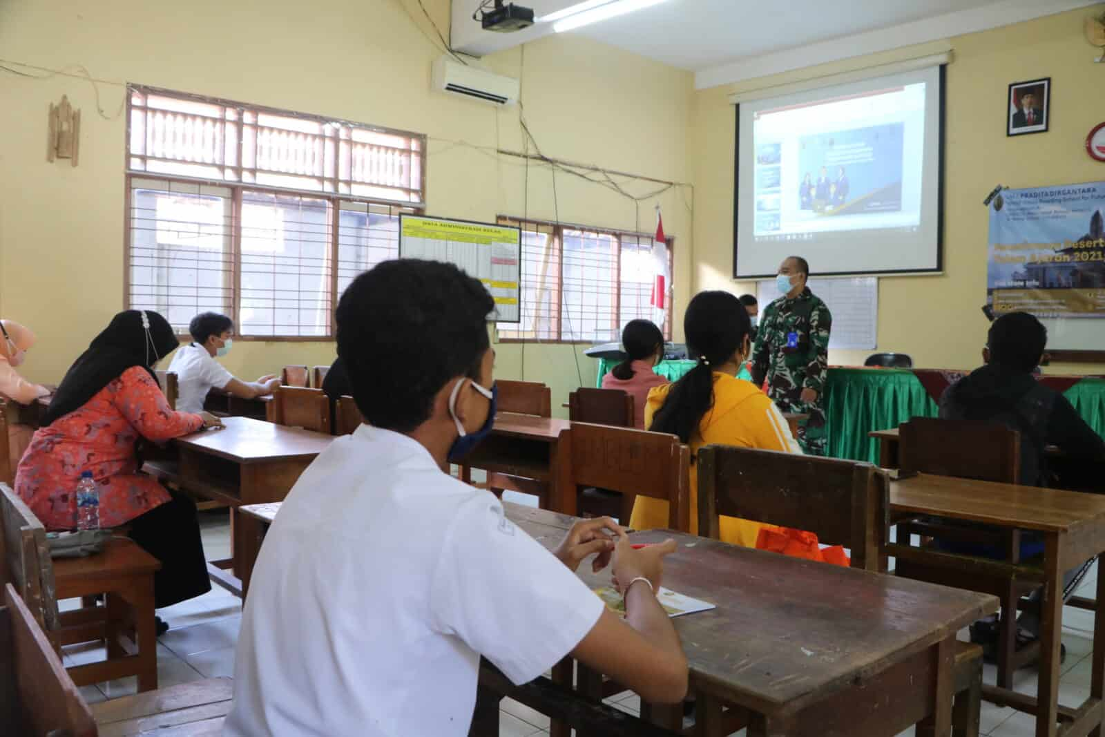 Lanud I Gusti Ngurah Rai Gelar Sosialisasi SMA Pradita Dirgantara