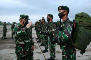 Empat pesawat TNI AU dukung Serpas Satgas Penyangga Perbatasan RI-PNG.