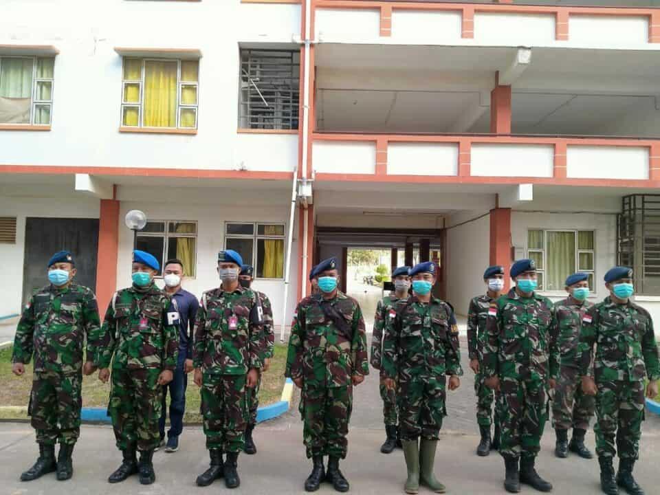 Lanud Hang Nadim Bersama Ditpam BP Batam, Proteksi Dini Wilayah KKOP Hang Nadim.