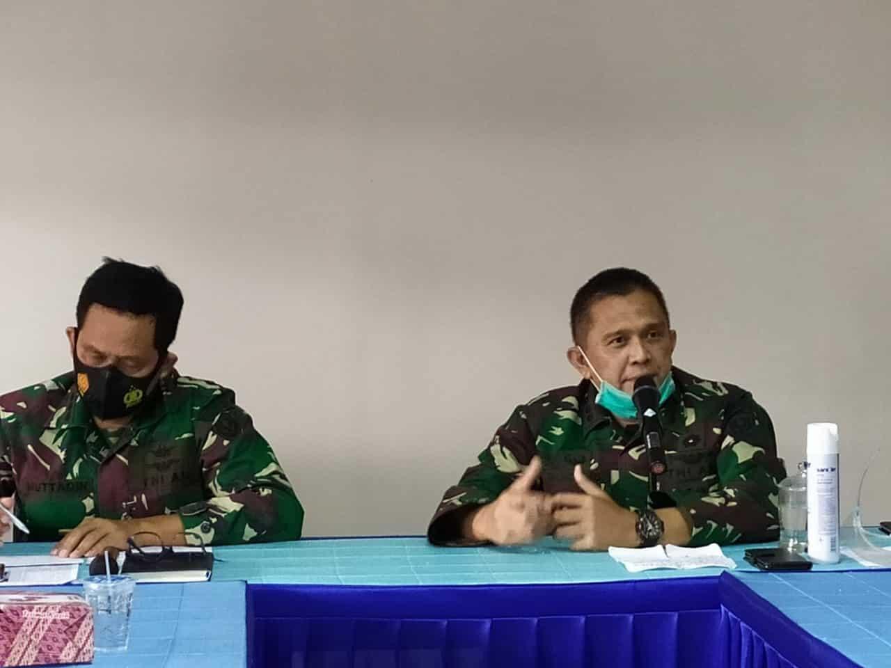 Tingkatkan Profesionalitas Tugas, Disbintalidau Gelar Pembekalan Perwira Bintal