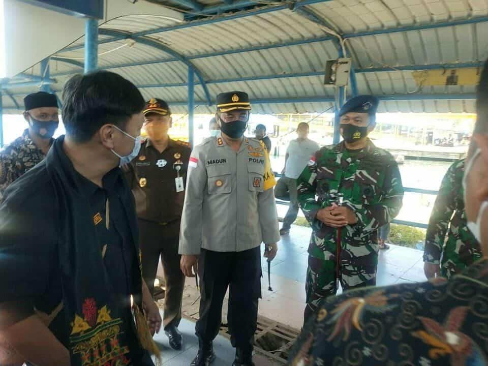 Danlanud Mus Sambut Kedatangan Wakil Menteri ATR/BPN