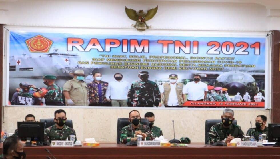 PANGKOOPSAU II IKUTI RAPIM TNI 2021