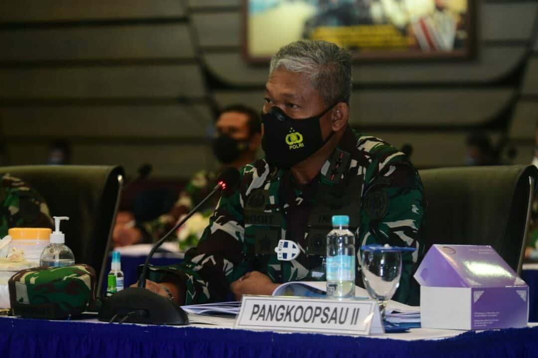 PANGKOOPSAU II HADIRI RAPIM TNI ANGKATAN UDARA DI MABESAU CILANGKAP
