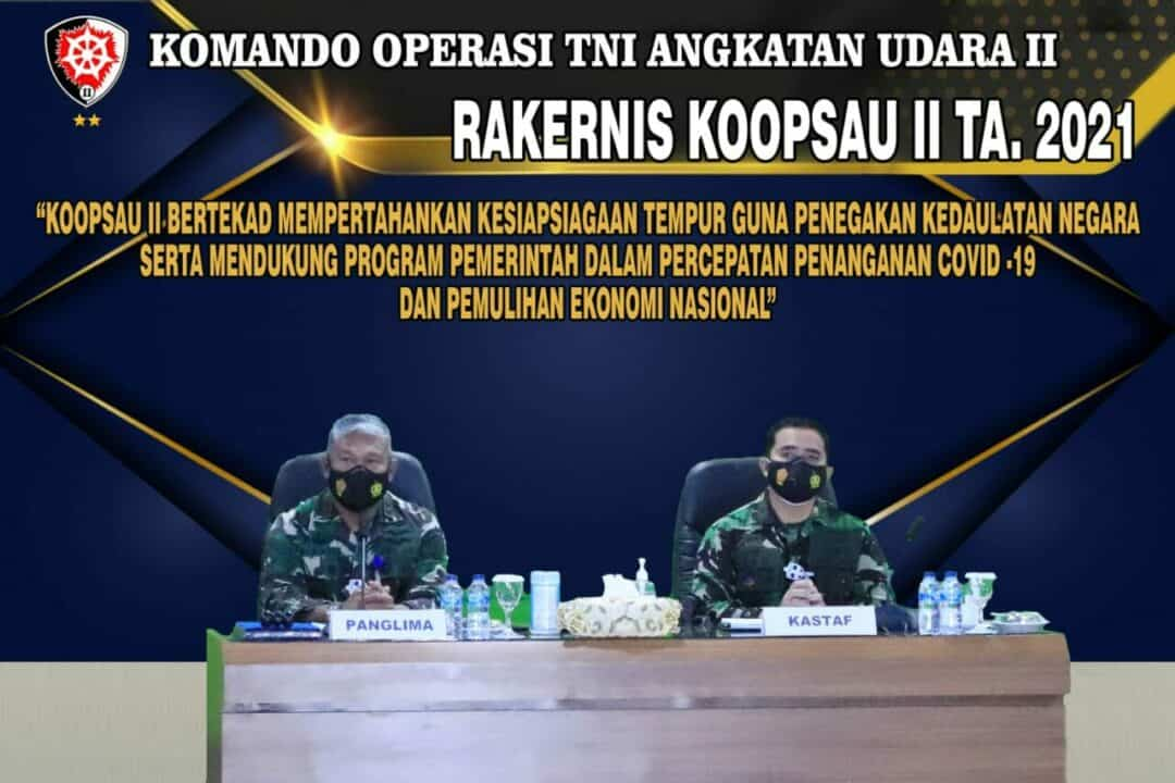 KOOPSAU II LAKSANAKAN RAPAT KERJA TEKNIS TAHUN ANGGARAN 2021