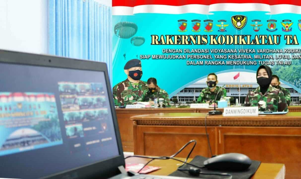 Kodiklatau Ciptakan Konsep dan Strategi Dalam Peningkatan Kualitas SDM TNI AU