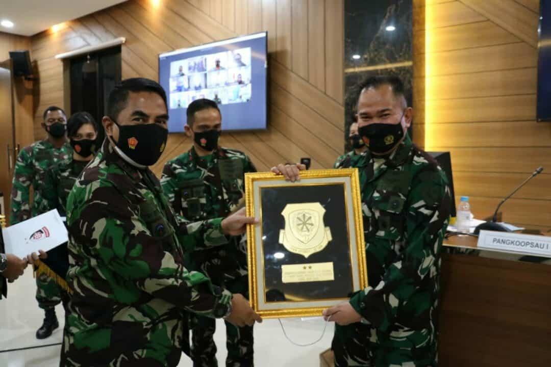 Danlanud Sutan Sjahrir Hadiri Rakernis Koopsau 1 T.A 2021 Di Makoopsau 1 Jakarta