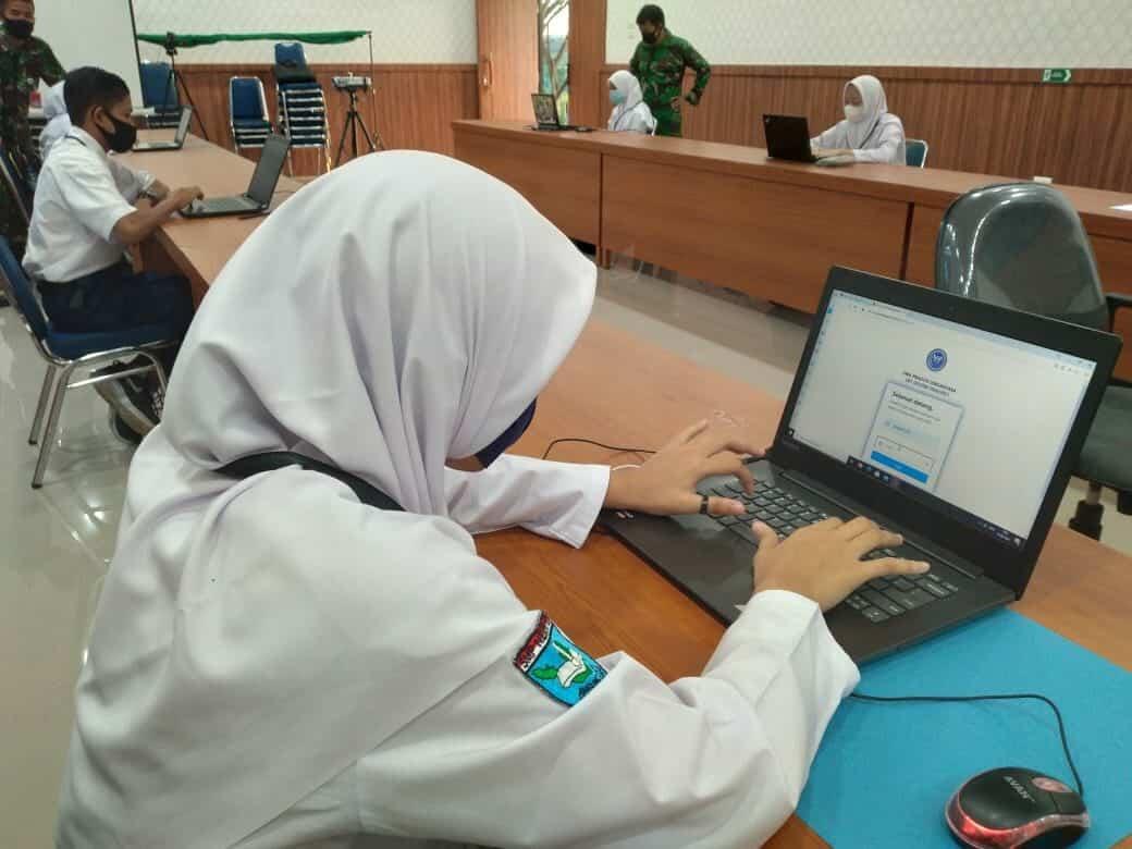 PPDB SMA Pradita Dirgantara Panda Lanud Mus Gelar Seleksi Tahap I Secara Online.