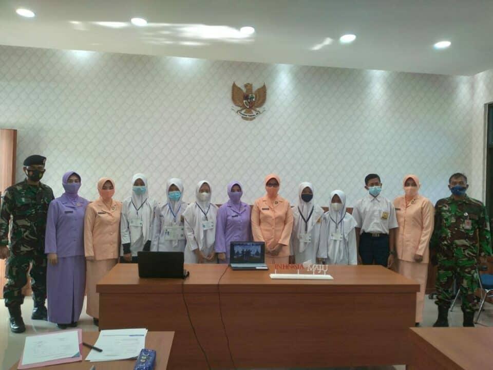 Ketua Yasarini Cab16/D I, IKKT Satrad 233 Beserta Pengurus, Dampingi Seleksi SMA Pradita Dirgantara.