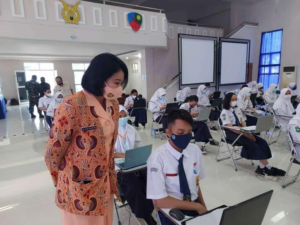 Seleksi Daerah PPDB SMA Pradita Dirgantara di Lanud Adi Soemarmo