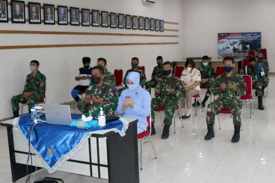 Secara Virtual Lanud Sjamsudin Noor Ikuti Doa Bersama Jajaran Koopsau II Berharap Indonesia Bebas Dari Bencana